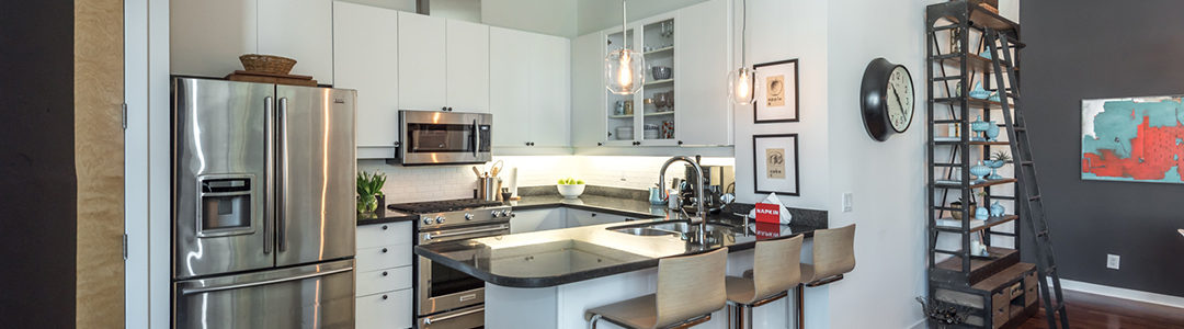 Downtown Toronto Condo Kitchen: Declutter & Stage - Home In Transition